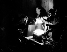 Ottawa's first light show artists