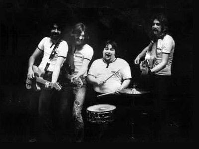 Trevor Veitch, James Rolliston, Richard Patterson and Tom Rush