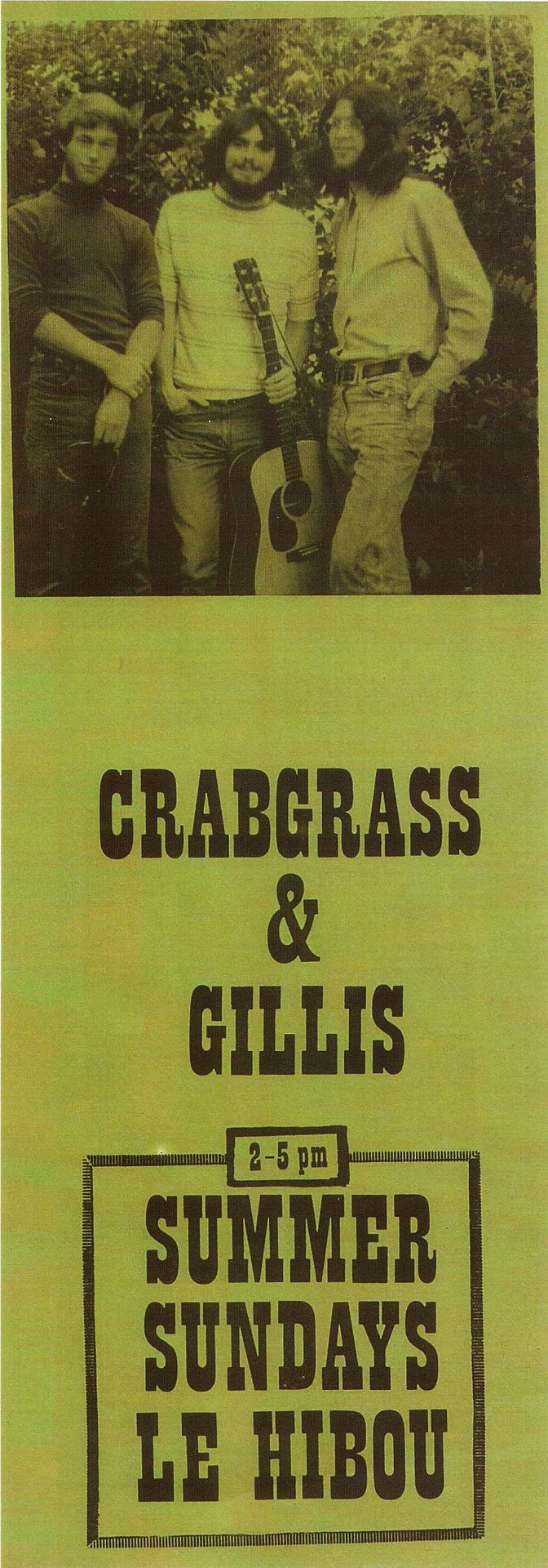 Crabgrass and Gillis