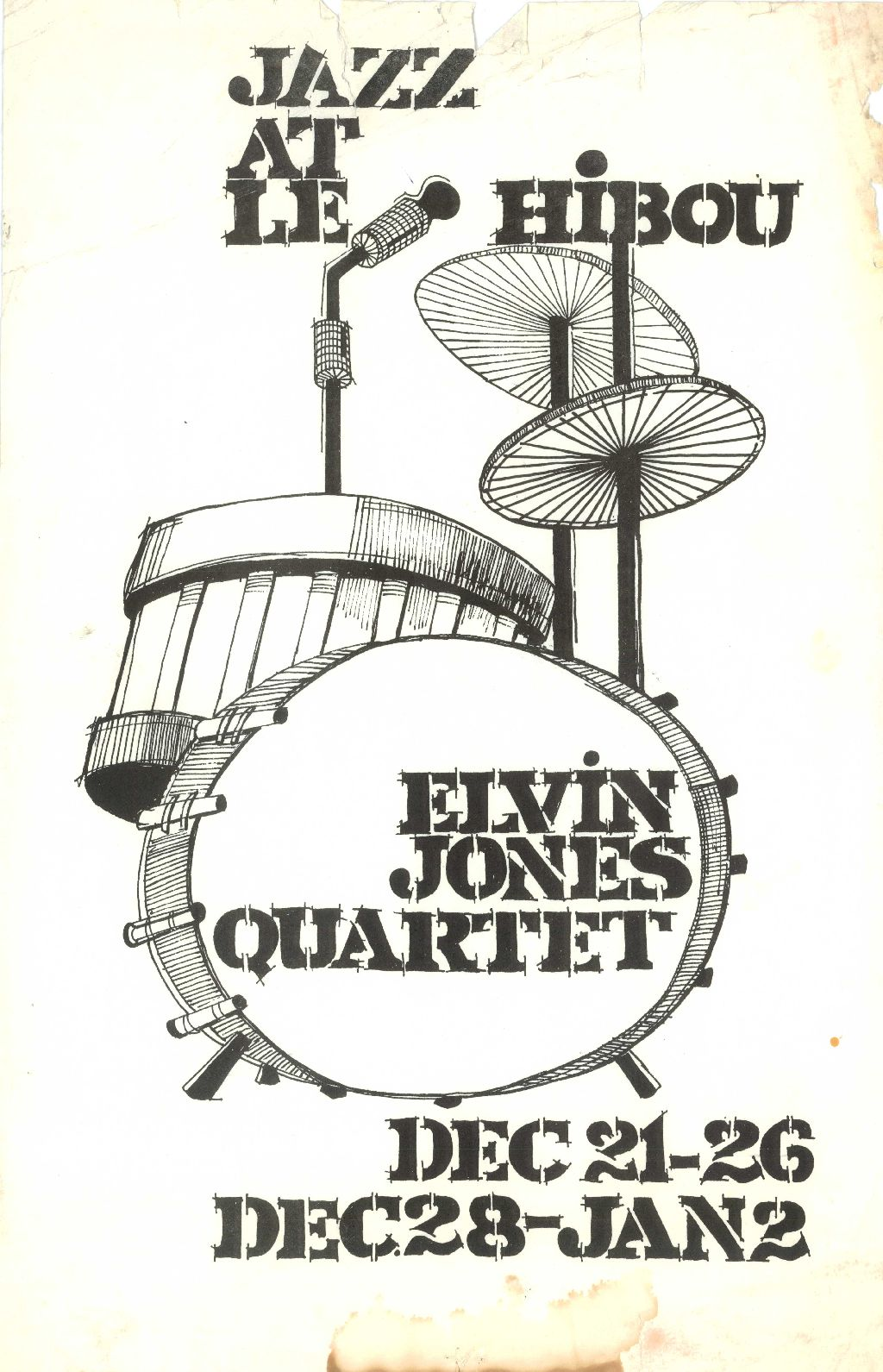 Elvin Jones Quartet
