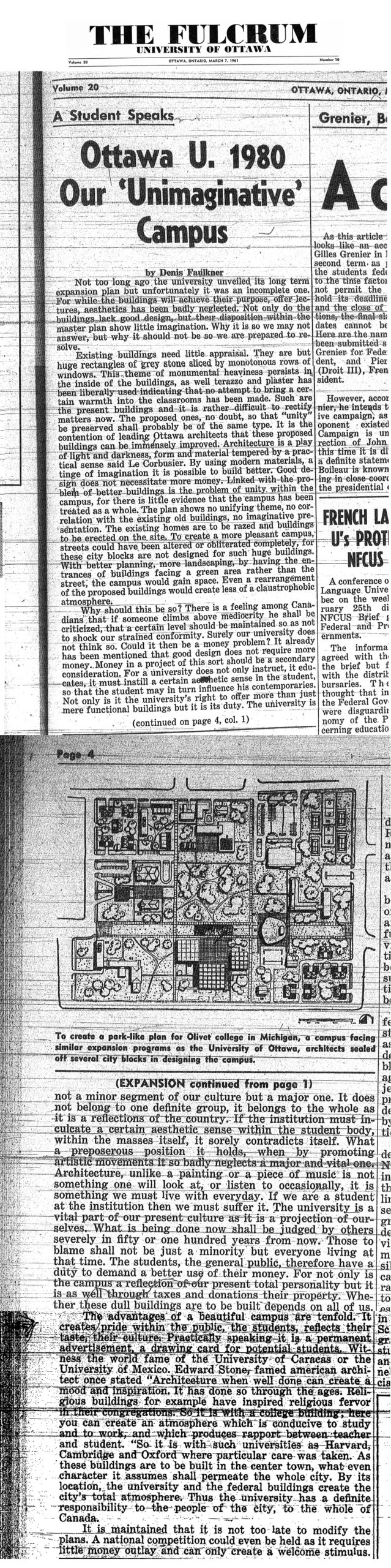 The article that changed the UofO campus and drew people to Le Hibou.