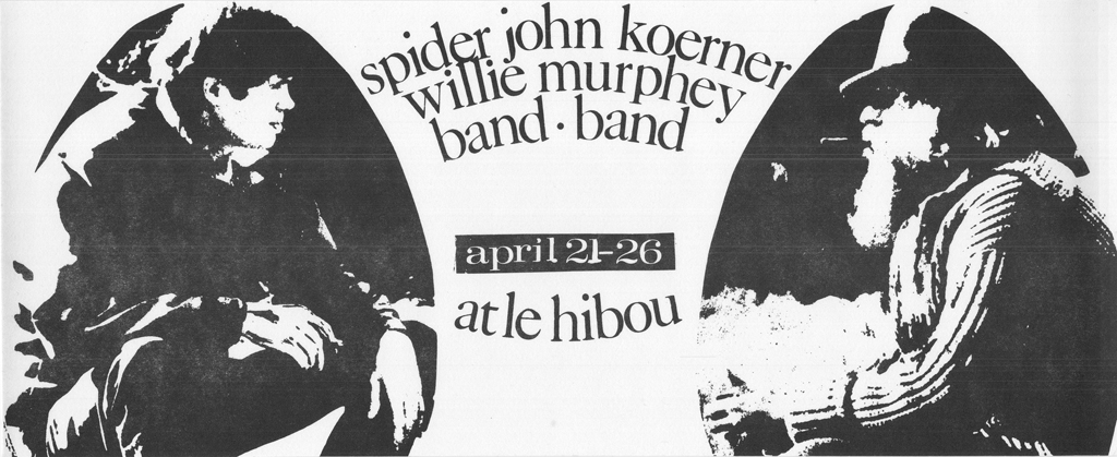 Spider John Koerner Willie Murphy Band