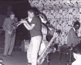 Jazz at the Yardbird Suite.