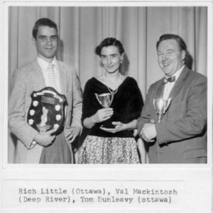Ottawa Little Theatre's Rich Little (best actor), EODL Festival, 1960.