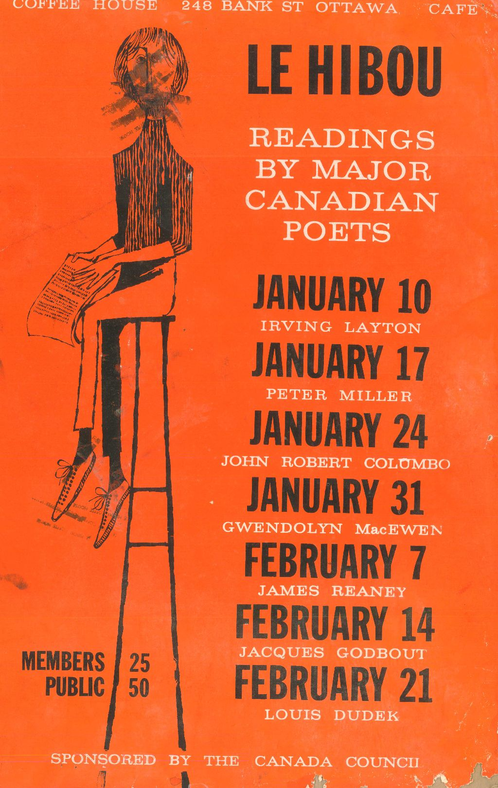 Readings by Major Canadian Poets
